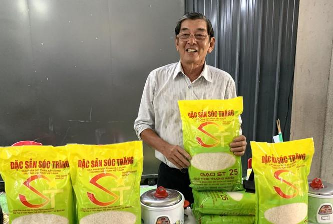 Bao bì gạo ST25 khi chưa tham dự cuộc thi GẠO NGON THẾ GIỚI